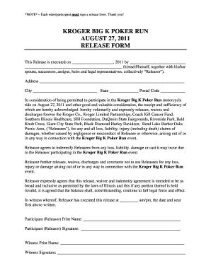 Run Forms - Fill Online, Printable, Fillable, Blank | PDFfiller on dollar tree application job print, kroger job application printable, kroger job application status, kroger bagger job application, kroger job application kiosk,