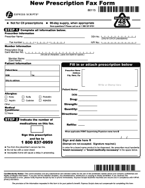 express scripts fax forms for physicians Fax Form 34191 - Fill Online, Printable, Fillable, Blank | PDFfiller