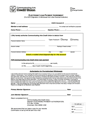 Members Equity Home Loan Application Form