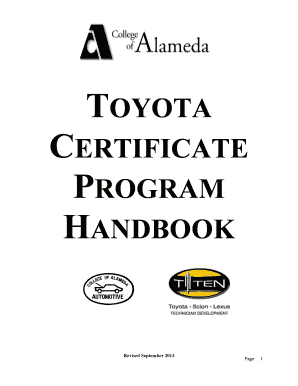 Printable toyota financial credit score tiers 2017 Templates