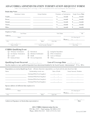 employee termination form Templates Fillable Printable Samples
