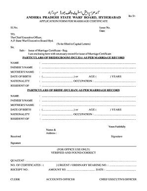 Date of birth certificate telangana