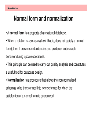 word for not normal
