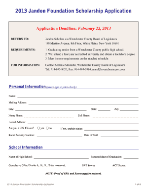 employment application template word