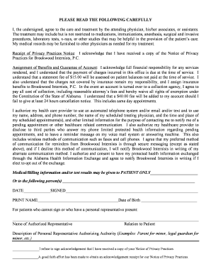 New Patient Registration Form - Brookwood Internists, PC