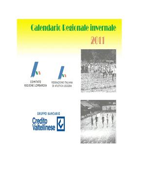Fidal Lombardia Calendario.2011 Calendario Gareregionaleinvernale10 Bb Fidal