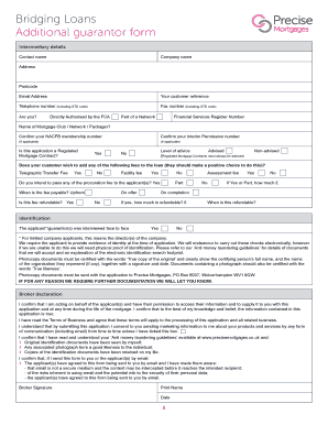 Submit Printable guarantor form for loan Forms and Document Blanks