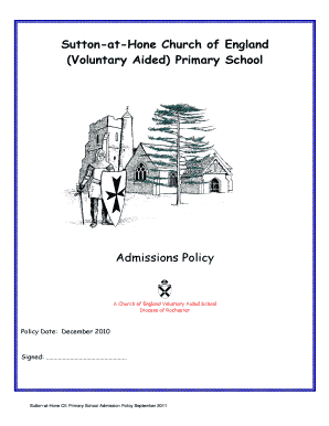 Voluntary Child Support Agreement Letter Between Parents Aided Primary School