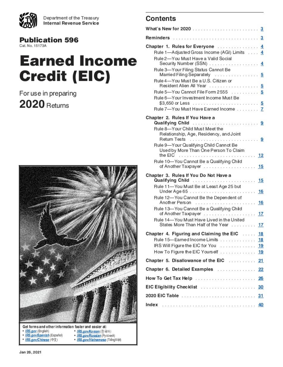Form Publication 596
