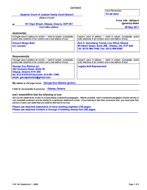 62 Printable General Affidavit Forms and Templates