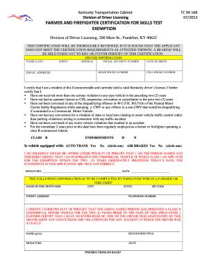 Fillable Online transportation ky TC 94-168.doc - Kentucky ...