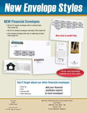 fillable online gfs envelope sell sheet ver2 general financial