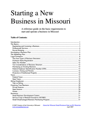 Free Missouri Llc Operating Agreement Template Business In