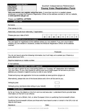 Voter Registration Form Abq - Fill Online, Printable, Fillable ...