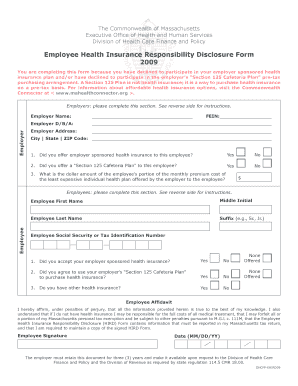employee decline health insurance form - Edit, Fill Out, Print ...