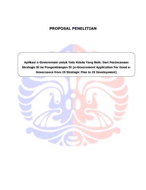 Cobtoh Proposal Pdf Fill Online Printable Fillable