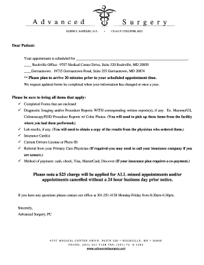 dental clearance letter for surgery dental clearance letter for knee replacement surgery - Edit Online ...