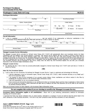 Usarec reg 3 0 fill online printable fillable blank pdffiller enrollment form washington county co washington or fandeluxe Image collections