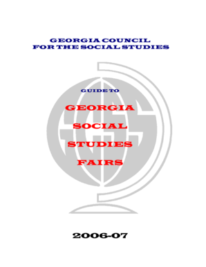 GEORGIA COUNCIL FOR THE SOCIAL STUDIES - Henry County ...