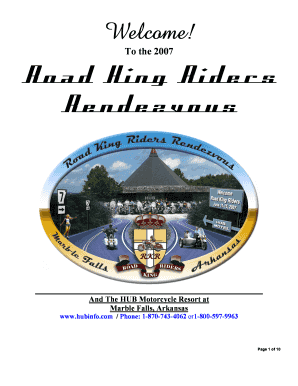 Road King Riders Rendezvous - Moccs Place