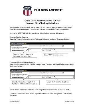 21 Printable bill of lading sample doc Forms and Templates