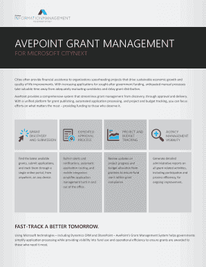 AvePoint Grant Management Product brochure. #Master Software License and Support Agreement (US)(form)-1