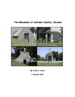The Mausolea of Johnson County, Kansas