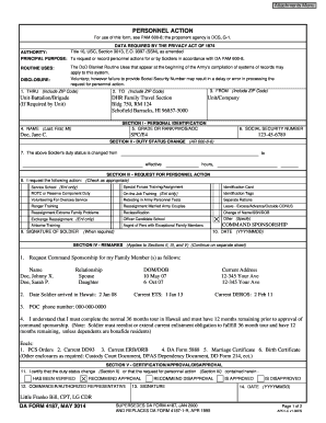 56059888 Da Form Macp Example on compassionate reassignment, for aviation badge, driver's badge, for combat action badge, deletion orders, change mos, separate rations,