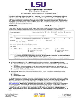 college applications to print for lsu form
