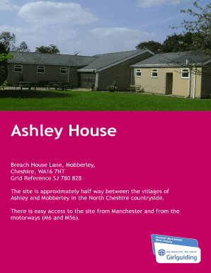 Fillable Online gmwguiding org Ashley House - gmwguiding org Fax Email  Print - PDFfiller d5c2d3f9b2a