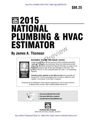 2015 national plumbing and hvac estimator plumbing and hvac cost estimates - Hvac Estimator