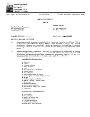 Pape Electroplating Company Inc Final Permit CTSP0000059 This NPDES Water Permit was issued by the US EPA New England for the Pape Electroplating Company Inc in New Britain CT - epa