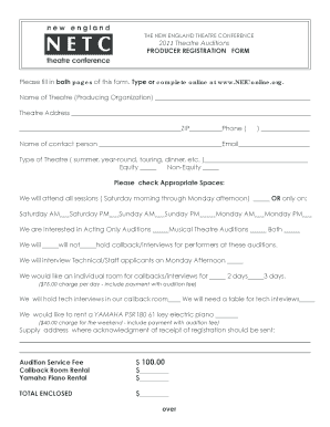 editable theatre audition form template fill print download law forms in word pdf. Black Bedroom Furniture Sets. Home Design Ideas
