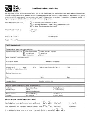 profit and loss statement for small business Forms and Templates ...