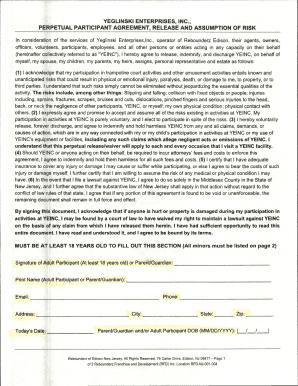 rebounderz waiver Fillable Online scclive Rebounderz Waiver - scclive Fax Email Print ...