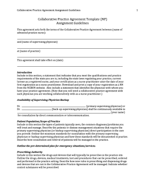 collaboration contract template - editable assignment agreement template fill out print