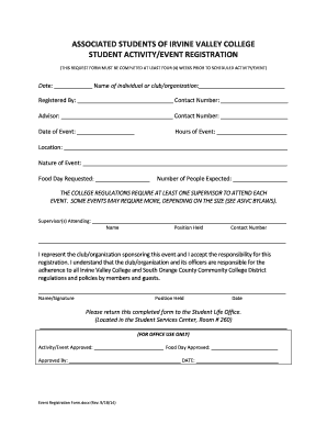 Event booking form template fillable printable samples for Event booking form template word