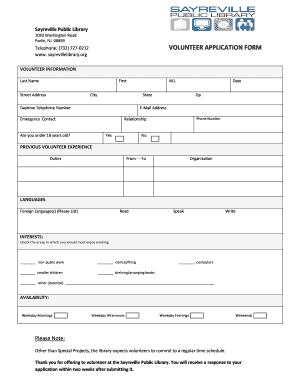 58456811 Volunteer Application Form Public Liry on