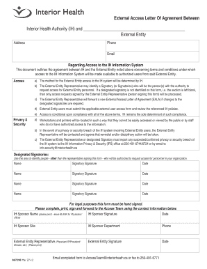 Printable Agreement Letter Between Two People Fill Out