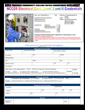 Fillable Online rpcc Electrical Technician-1 (3) pdf - River