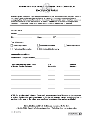 Bill Of Sale Form Maryland Workers Compensation Commission ...