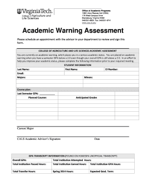 Printable warning letter for late coming edit fill out warning letter for late coming wwwcalsvtedu academic warning assessment spiritdancerdesigns Images