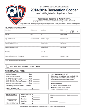 119 printable soccer roster template forms fillable samples in pdf
