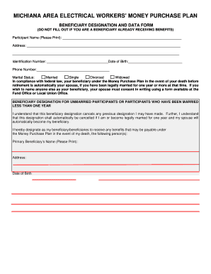 Editable Sample Beneficiary Designation Letter Fill Out Best Business Forms Download In Word