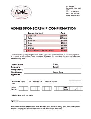 ADME Sponsorship Payment Form.doc