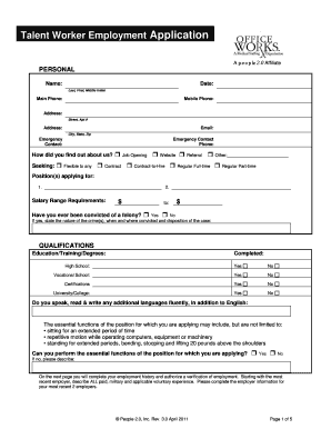 tax file number declaration new employment form online