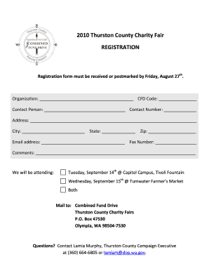 Charity Fair Letter and Registration 2010.docx. Increasing Success of Underrepresented STEM PhDs - cfd wa