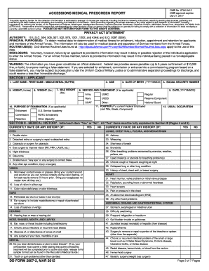 2015-2017 Form DD 2807-2 Fill Online, Printable, Fillable, Blank ...