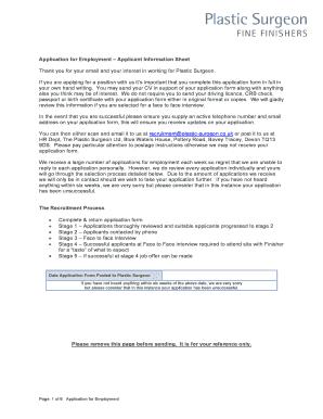 Private company appointment letter format templates fillable job application form plastic surgeon plastic surgeon co spiritdancerdesigns Images