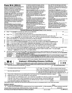 form w-4 Templates - Fillable & Printable Samples for PDF, Word ...